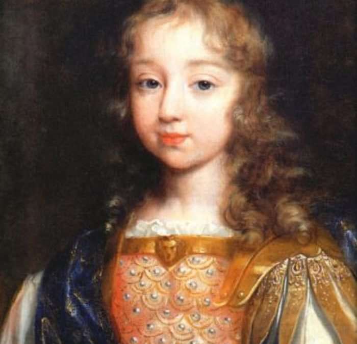 Who was Louis XIV's father?