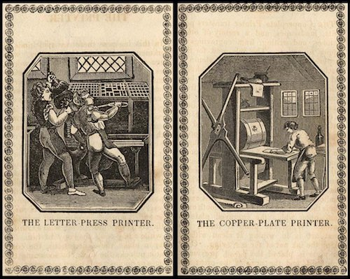 Gutenberg's fingerprint: how much is a smudge worth?
