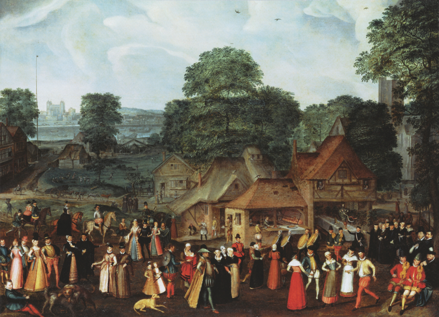 Eagles, red kites and an Elizabethan wedding: a round-about way to come up with an idea for a scene