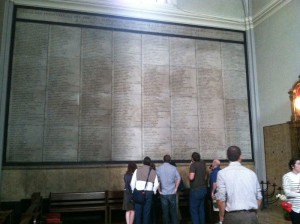 names of those guillotined