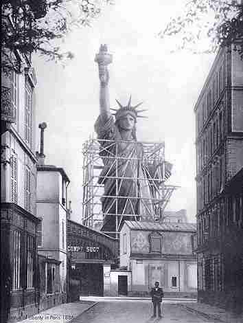 The Statue of Liberty in France
