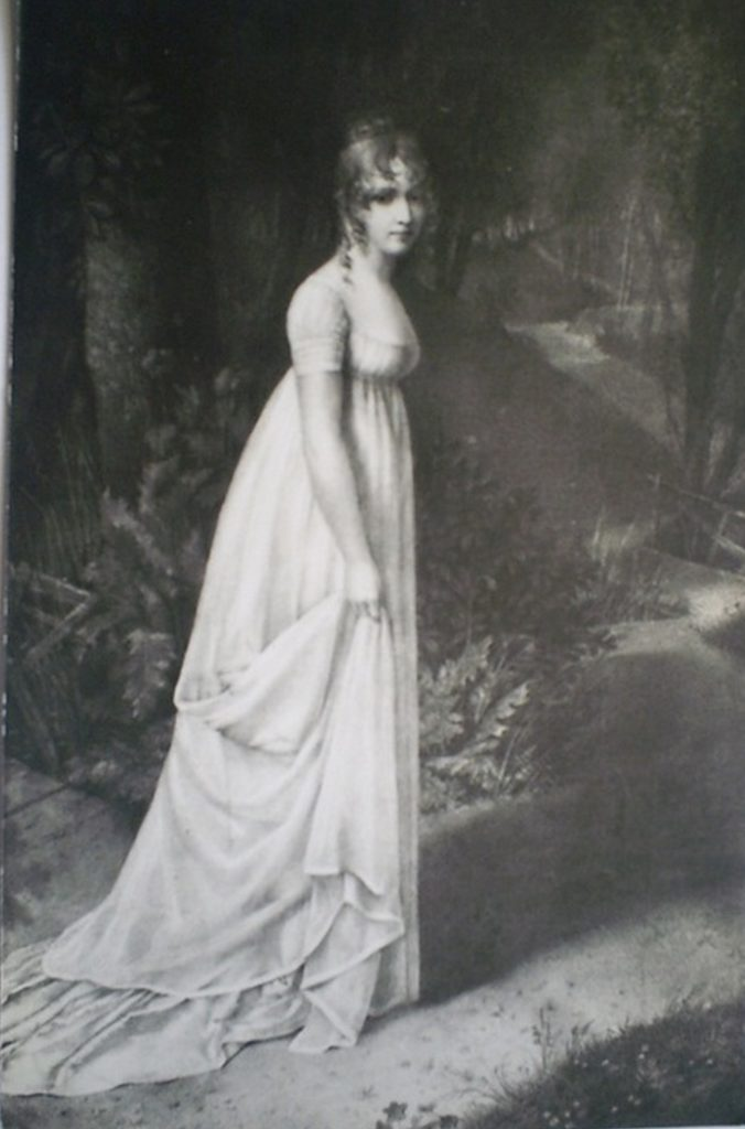 portrait of Hortense de Beauharnais