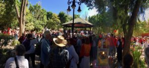 The Women's March in San Miguel de Allende, Mexico