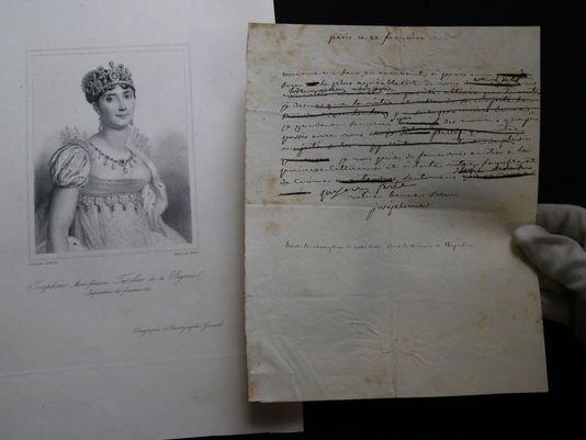 Josephine's edited letter