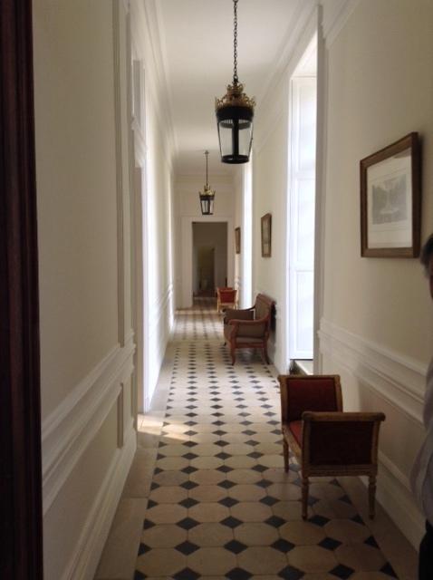 Mortefontaine hallway
