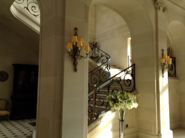 Mortefontaine staircase