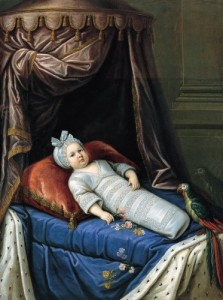 Portrait of a Child Presumed to be Louis XIV
