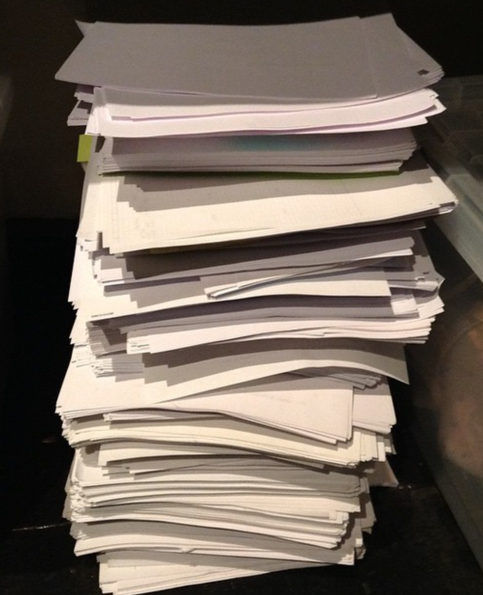 Stack of drafts