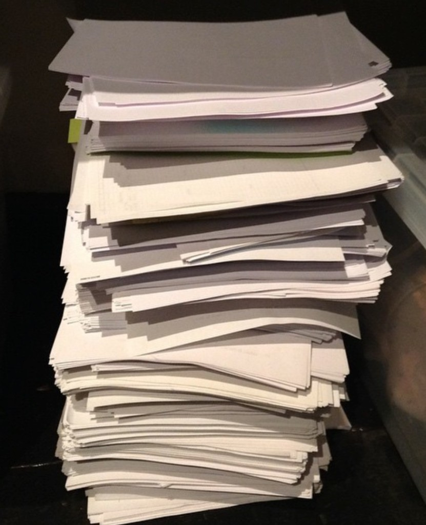 Stack-of-drafts